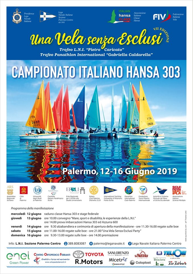 Campionato Italiano Classe HANSA 2019